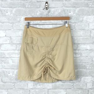 Athleta Cinch Front Mini Skirt Cargo Pocket   6
